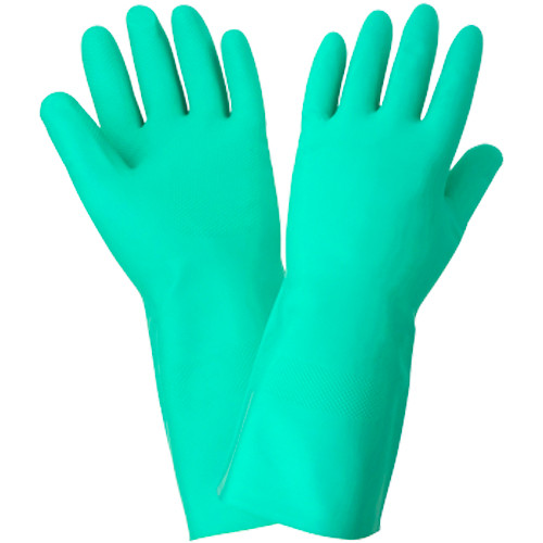 Global Glove 515-10 Unlined Nitrile Unsupported Gloves XL 12ct