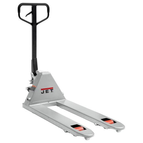 "JET 141171 PTW-2042A, 20"" x 42"" 6,600 LB Capacity Pallet Truck"