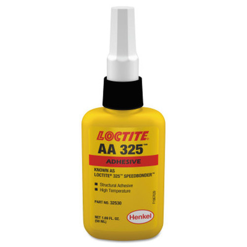 LOCTITE 135401 325 Speedbonder Structural Adhesive, High Temp, 50ml Bottle Amber
