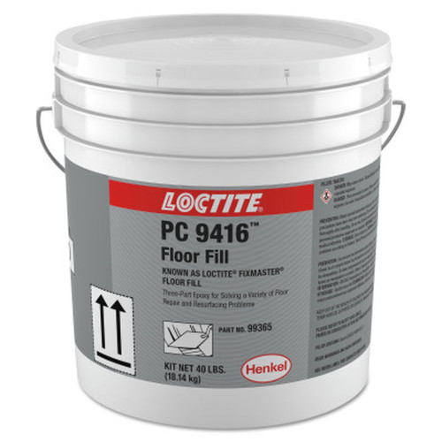 LOCTITE 235633 Fixmaster Floor Fill, 40 lb, Kit, Grey