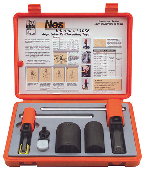 "NES nes1036 7/8"" - 2-5/8"" Internal Thread Repair Kit"
