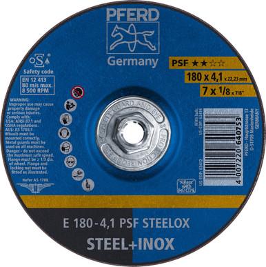 5//8-11 Thd. 10pk PFERD 63417 9 x 1//8 Pipeline Wheel A 24 M 4.1mm