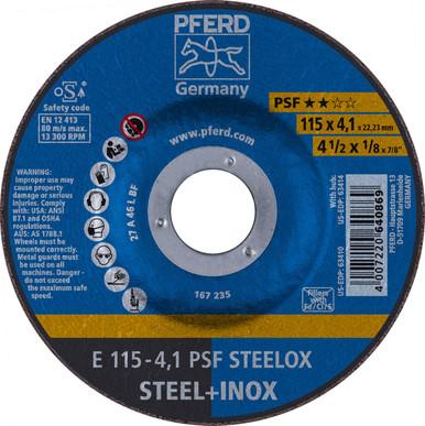 10//Each PFERD 4-1//2 X 1//8 Pipeline Wheel 7//8 AH 63400