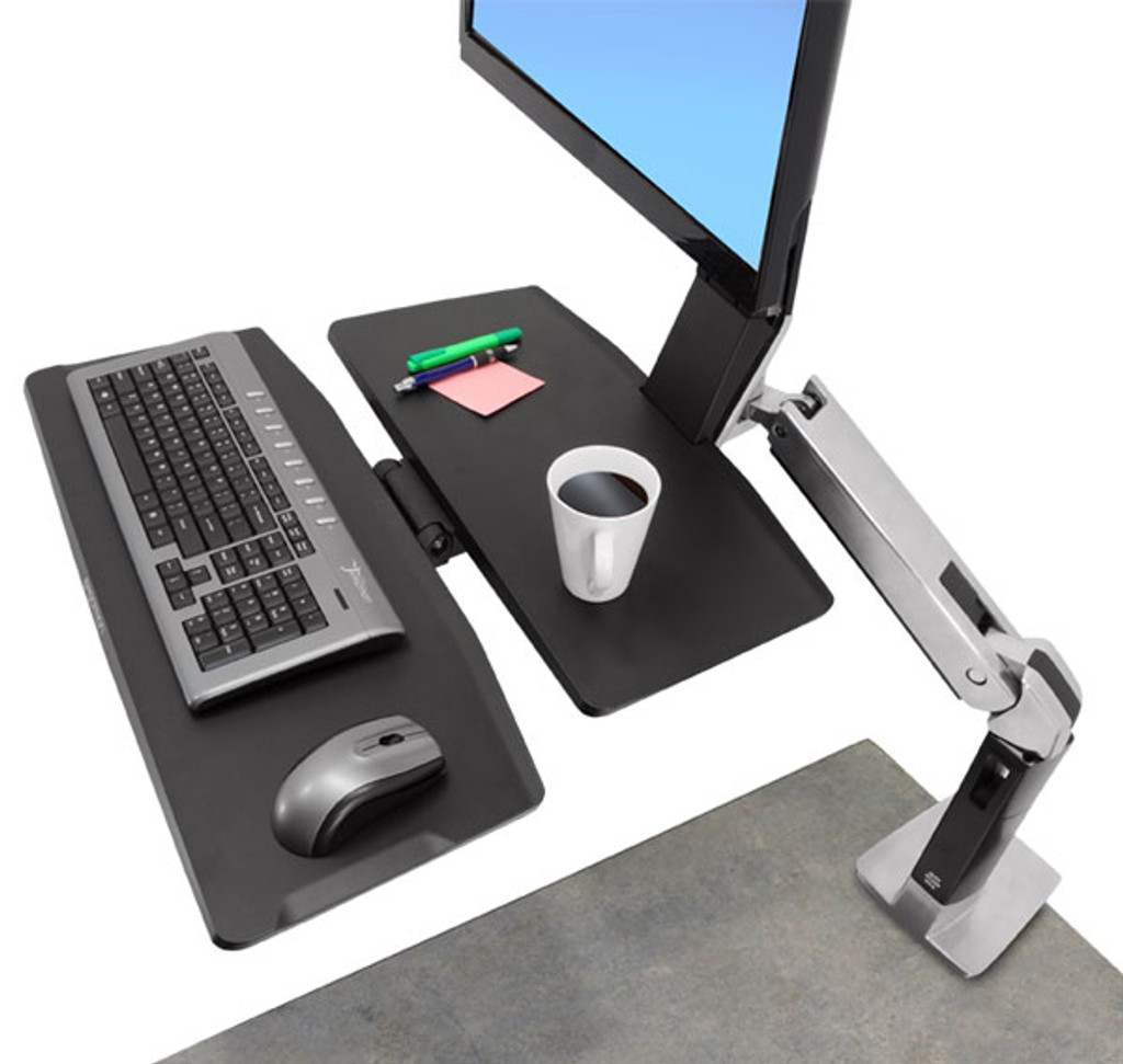 WorkFit-A, Single LD with Worksurface