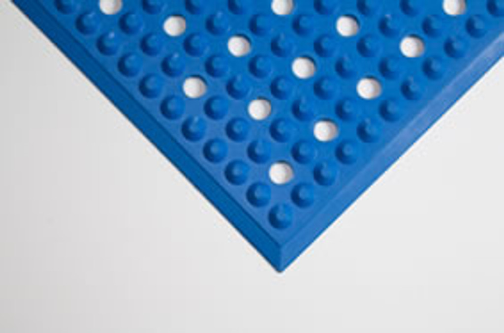 Mat with holes