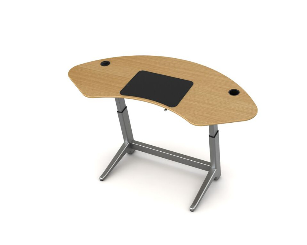 Sphere desk in white oak