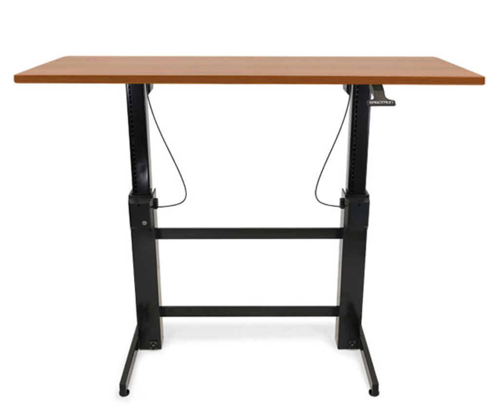 WorkFit-B, Sit-Stand Base, HD (24-388-009) shown with top