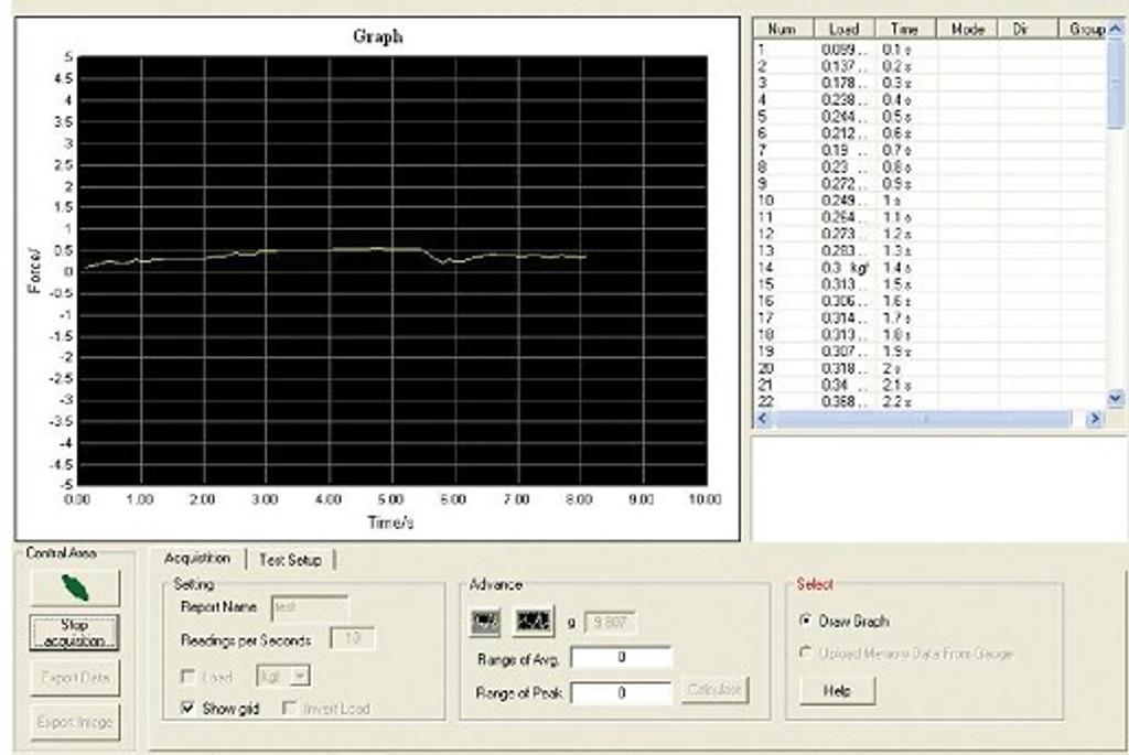 FG-3000 screen shot