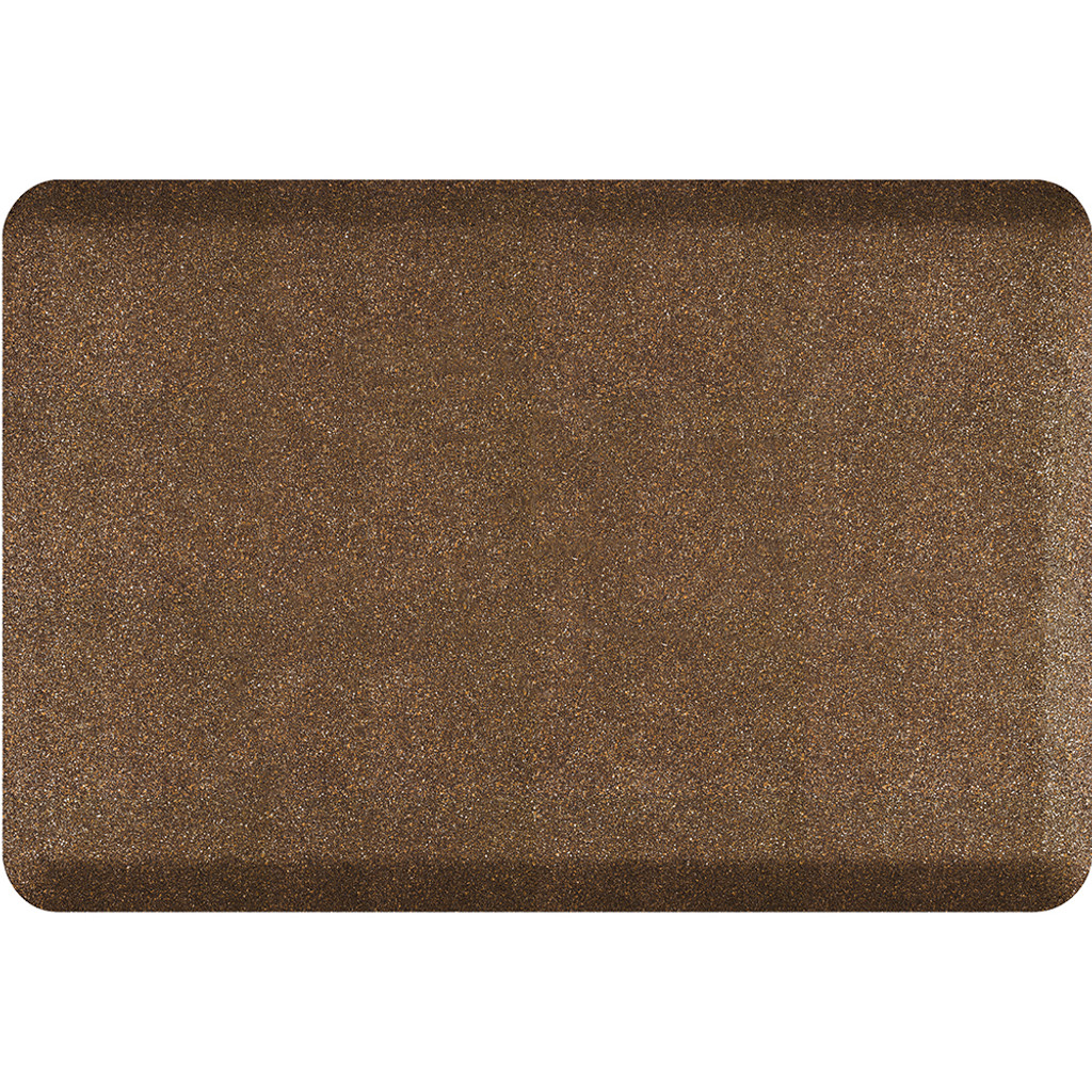 Mosaic Collection anti-fatigue mat in Copper, size 2x3