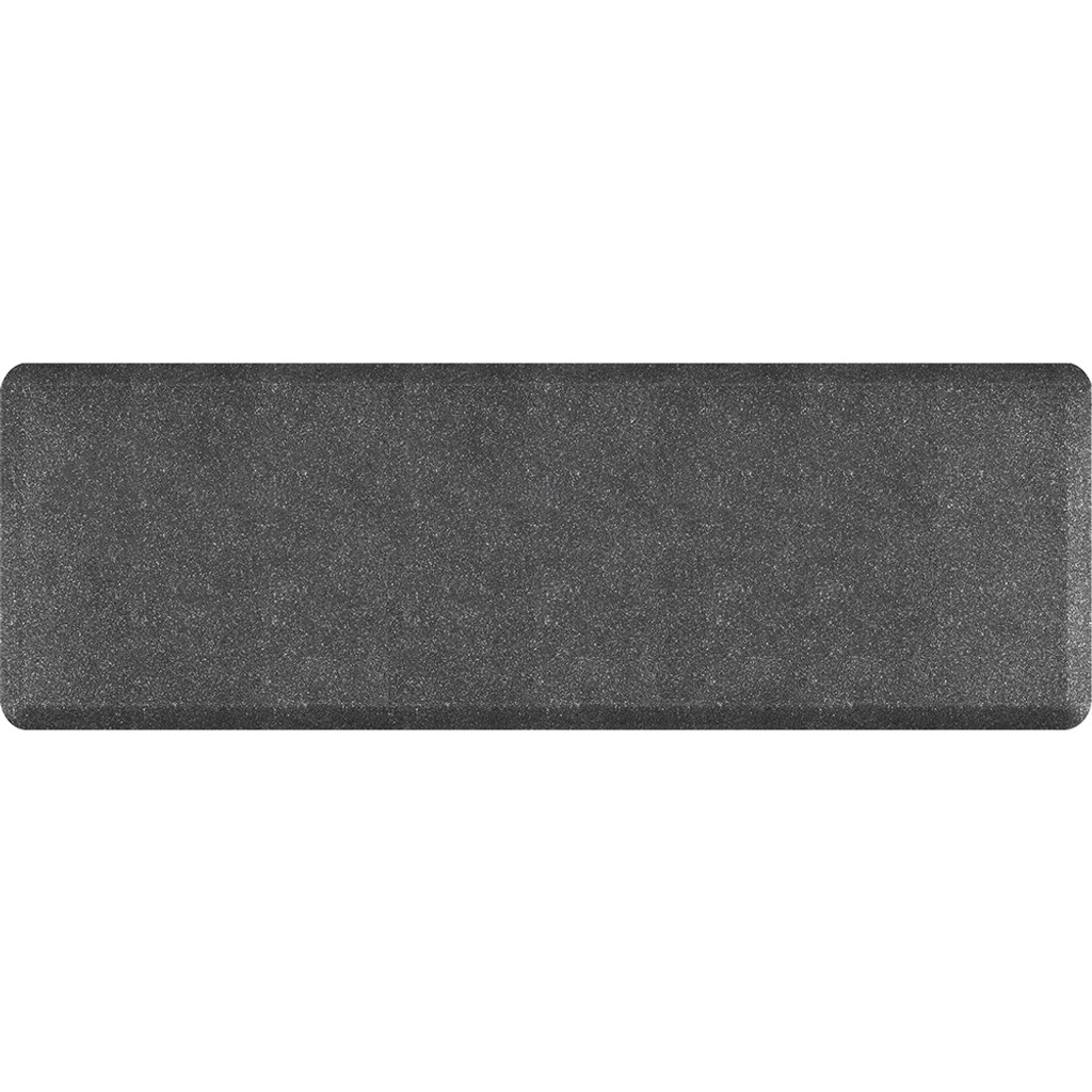 Mosaic Collection anti-fatigue mat in Steel, size 2x6