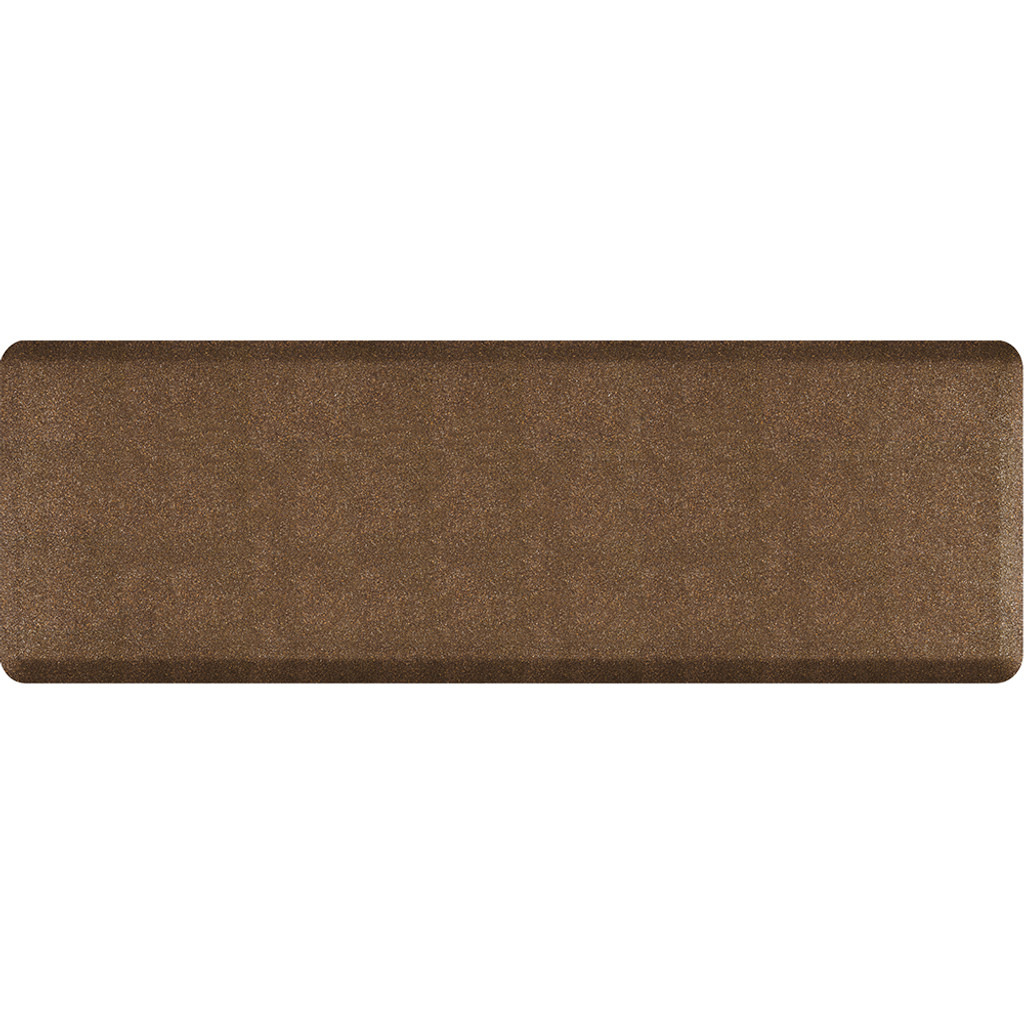 Mosaic Collection anti-fatigue mat in Copper, size 2x6