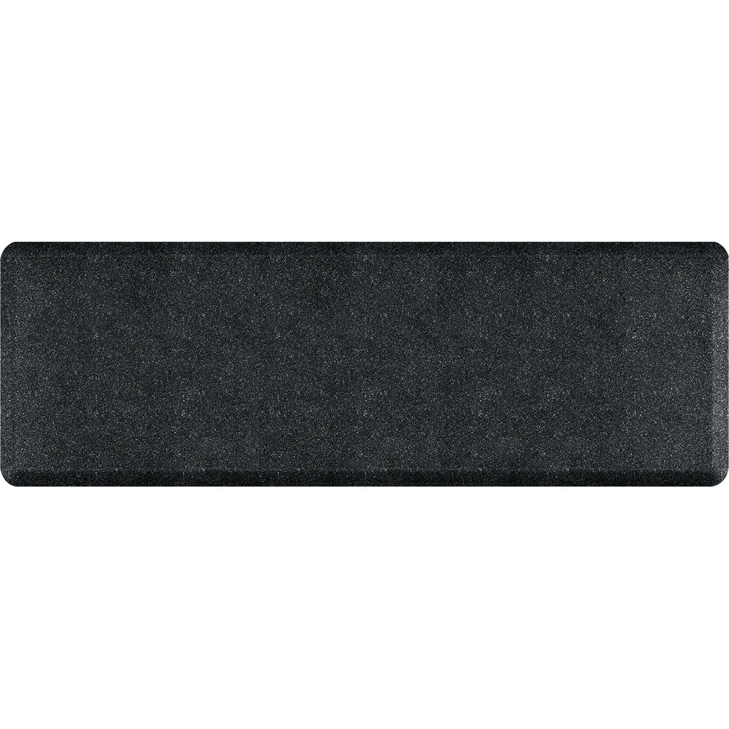 Mosaic Collection anti-fatigue mat in Onyx, size 2x6
