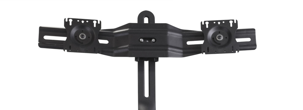 Maestro Sit-Stand Dual Monitor Arm fixture