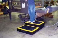 Platform with Add-A-Mat black in Use