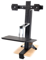Ergotron WorkFit-S, Dual LCD Sit-Stand Workstation