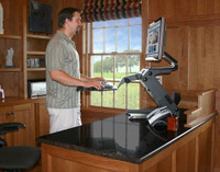 HealthPostures TaskMate Executive 6100 in Use Standing