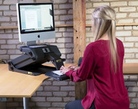 HealthPostures TaskMate Journey 6200 in Use Sitting