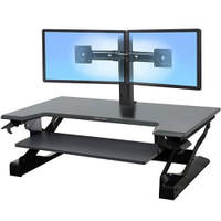 WorkFit-T/TL Sit-Stand Desktop Workstation