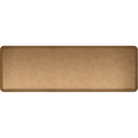 Mosaic Collection anti-fatigue mat in Gold, size 2x6