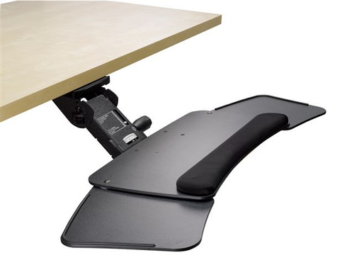 ErgoFluent Keyboard Platform & ErgoFlier Adjustable Arm