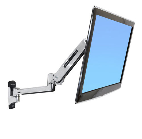 Ergotron LX Sit-Stand Wall Mount LCD Arm (45-353-026)