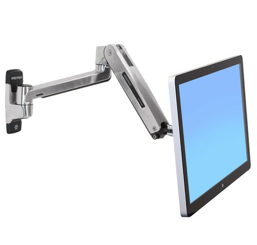 Ergotron LX HD Sit-Stand Wall Mount LCD Arm (45-383-026)