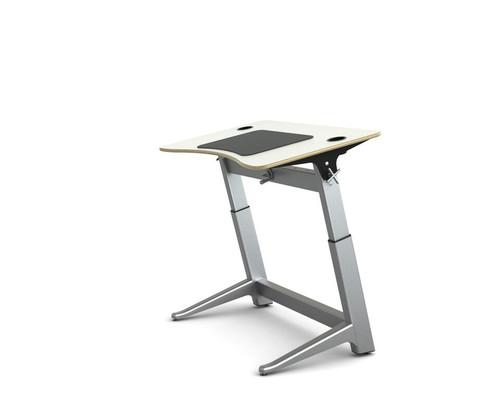 Locus Standing Desk white laminate top