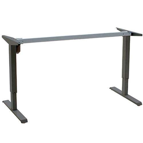 501-33 Electric Height Adjustable 2-Leg Desk (501-33 2-Leg) Black