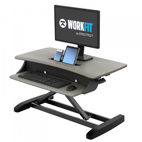 WorkFit-Z Mini Sit-Stand Desktop Workstation