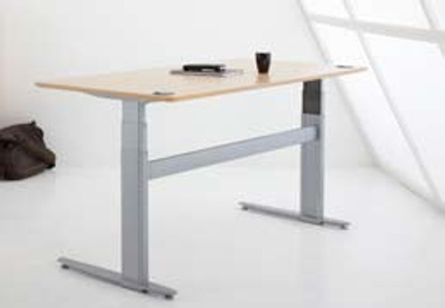 ConSet 501-29 Electric Height Adjustable 2-Leg Desk