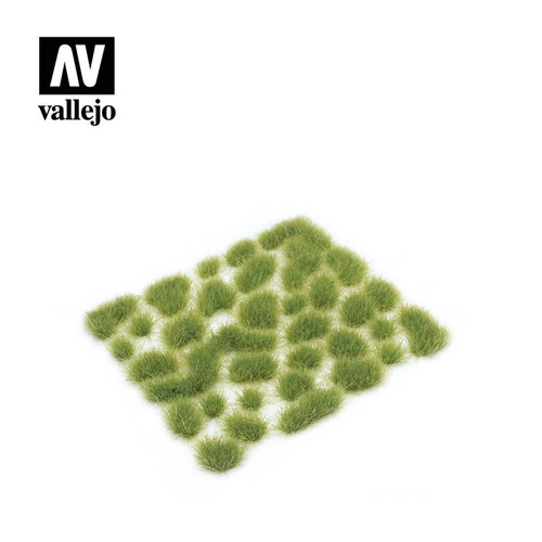 6mm Wild Tuft - Light Green (35pcs) AVSC417