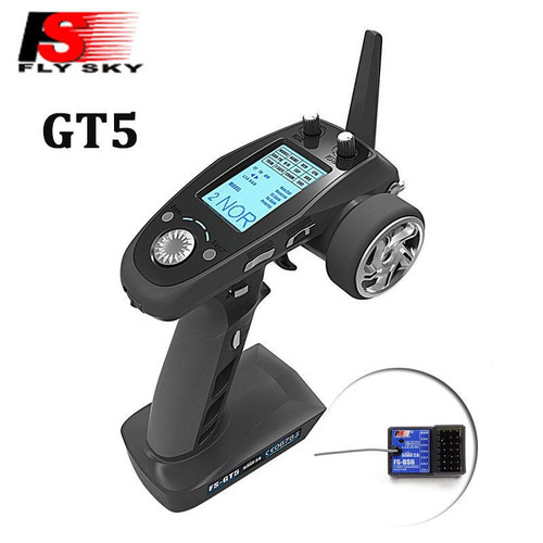 2.4G 6-Channel Transmitter w/ FS-BS6 Receiver FS-GT5