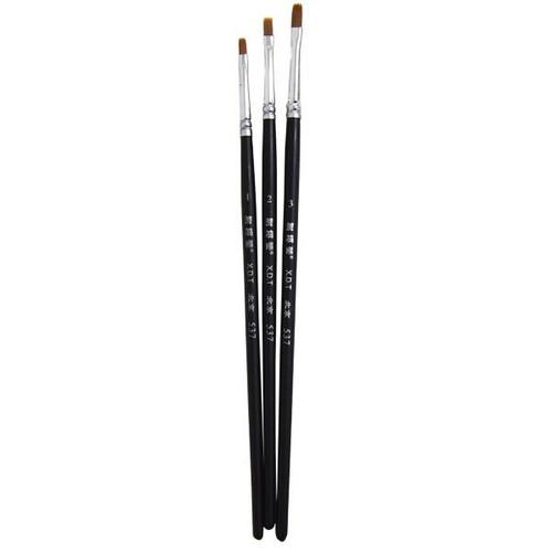 Paint Brush Flat Set 0/2/4 (3pce) HW-PBFSET