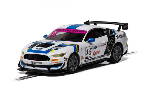 Scalextric Ford Mustang GT4 British GT 2019 C4173