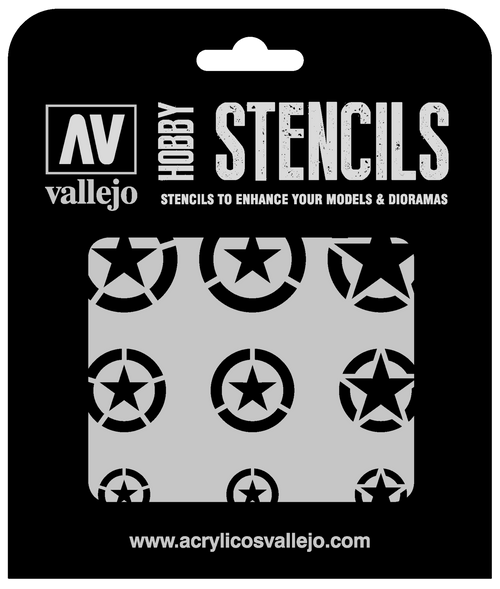 USAF Markings Stencil 1/32, 1/48 and 1/72 ST-AIR004
