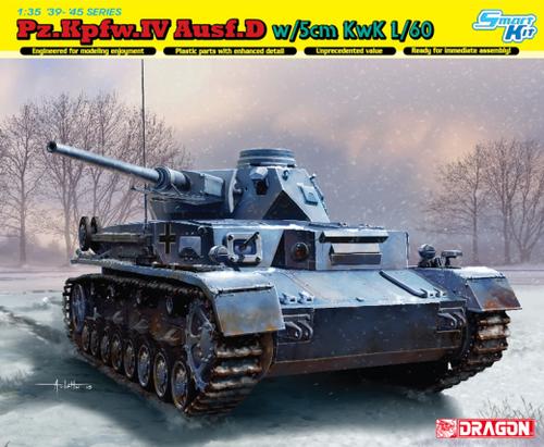 Pz.Kpfw.IV Ausf.D w/5cm KwK L/60 1/35 6736
