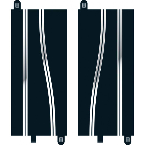 Side Swipe Straights (350mm x 2) C8246