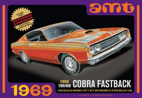 Ford Torino Cobra Fastback 1/25 AMT1217