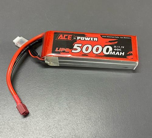 5000Mah SC 40C 11.1v 3S DEANS ACE5000SC403SDEAN