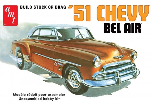 1/25 Scale 1951 Chevy Bel Air AMT862