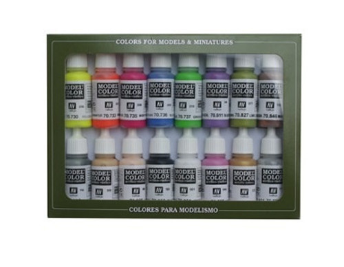 Model Color Wargame Special Acrylic Paint Set (16x17ml) AV70112