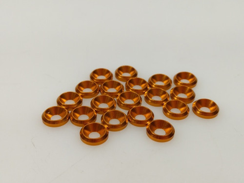 3mm Alum. Sink Washer 20Pcs (Gold) QW00311AGOLD
