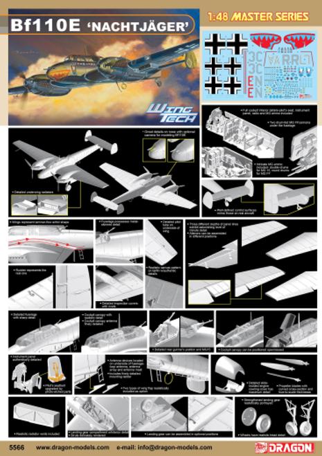 BF110E Nachtjager 1/48 5566