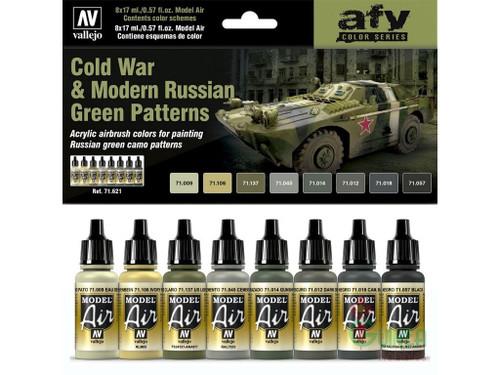 Cold War & Modern Russian Green Patterns AV71621