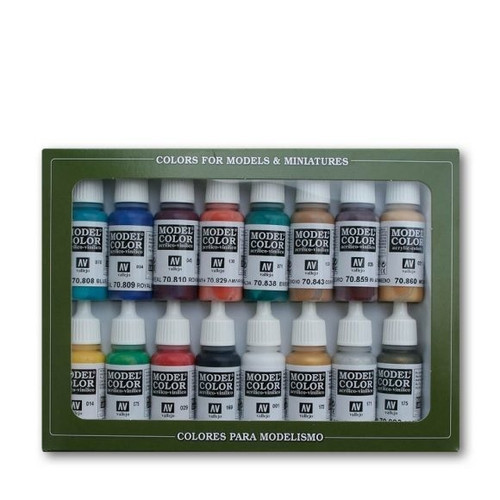 Model Color Medieval Colors Acrylic Paint Set (16x17ml) AV70142