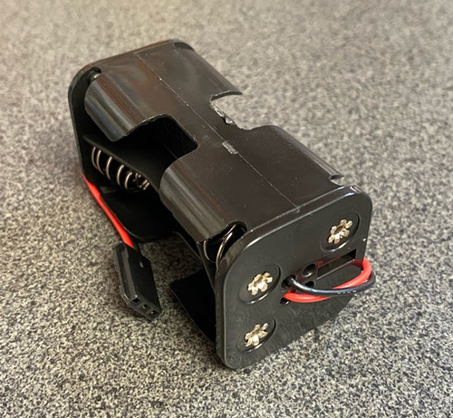 AA Four Cell Battery Box with Futaba Connector TRC-1202-3