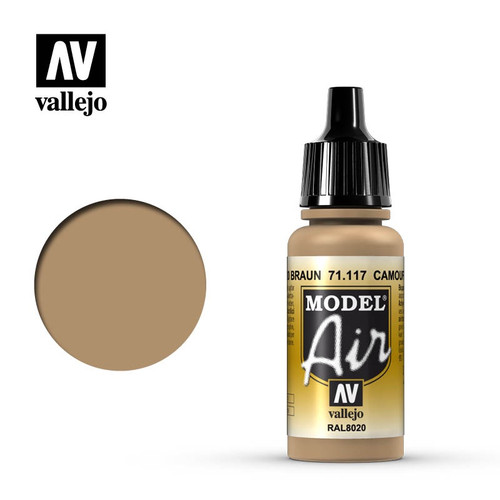 Model Air Camouflage Brown Acrylic Paint 17ml AV71117