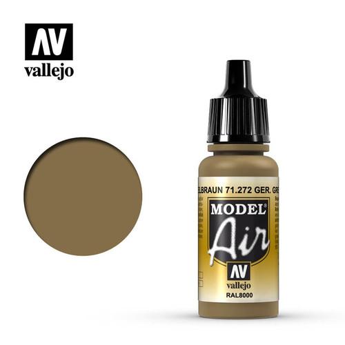 Model Air German Yellow Brown Acrylic Paint 17ml AV71272