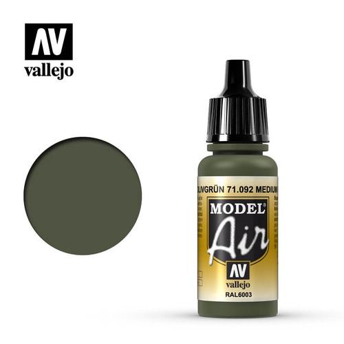 Model Air Medium Olive Acrylic Paint 17ml AV71092
