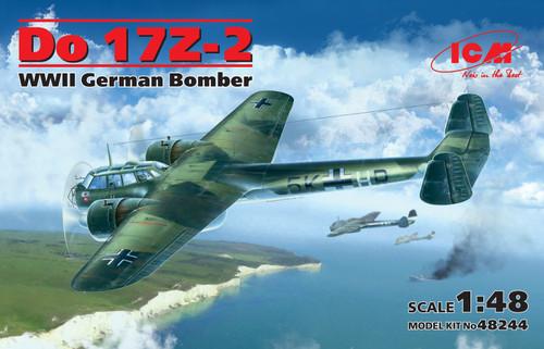 Do 17Z-2 WWII German Bomber 1/48 48244